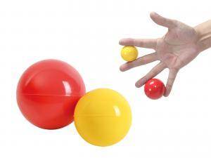 Handträn.boll 2 st 5,5/4,0 cm - www.gulare.com